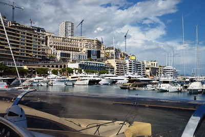 Monaco Classic 2016 view from Ma Fantaisie 2