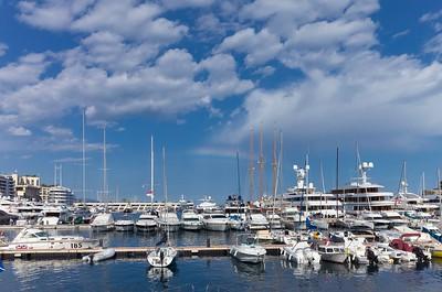 Rainbow over Monaco 2016