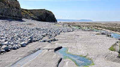 View West, Coastline at Kilve, Somerset