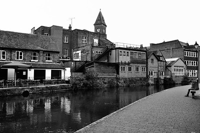 Newbury View, Old and New, Canal Side