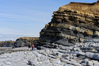 Coastline at Kilve, Somerset