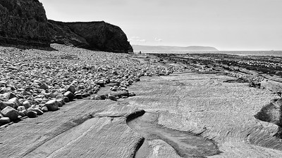 View West, Kilve Beach, Somerset