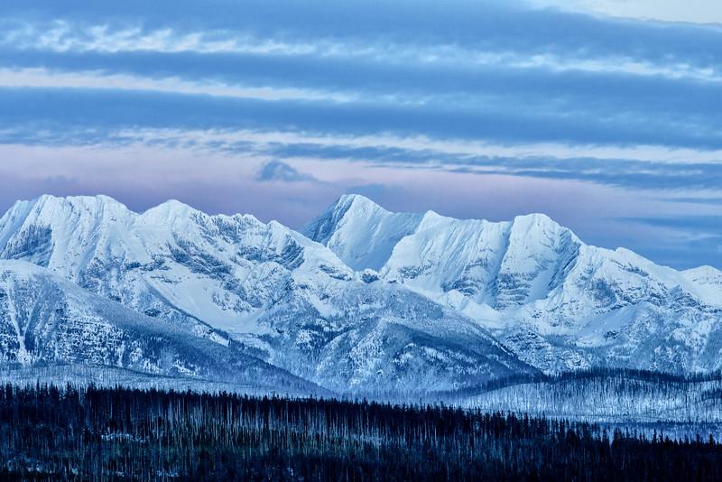 Alpine glow Montana