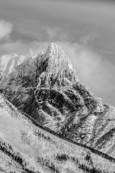 Frigid peak