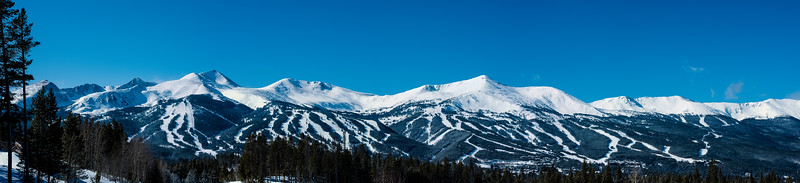 Breckenridge bluebird day