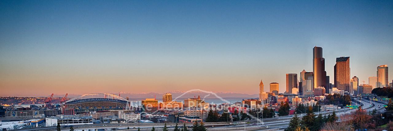 Seattle Sunrise 2015
