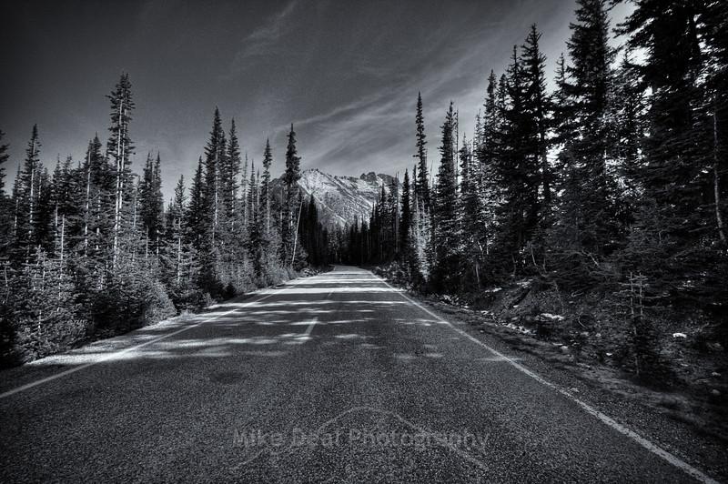 Mountain Road B/W