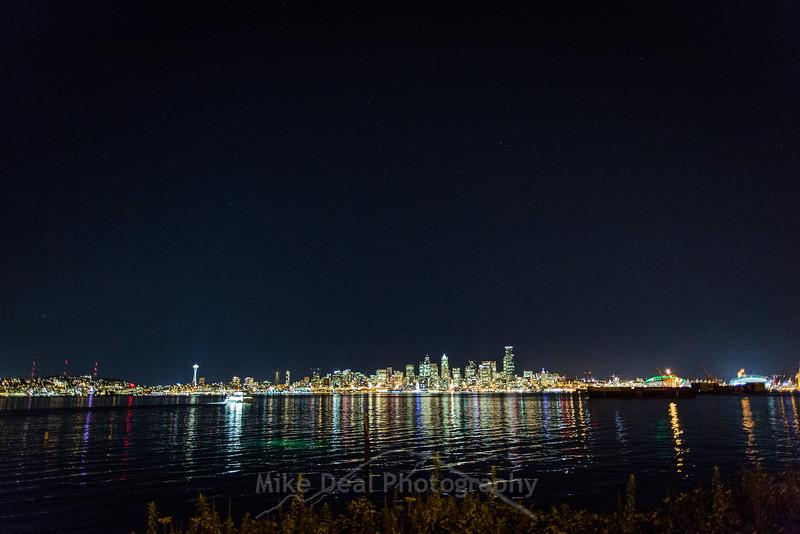 Seattle at night 2015