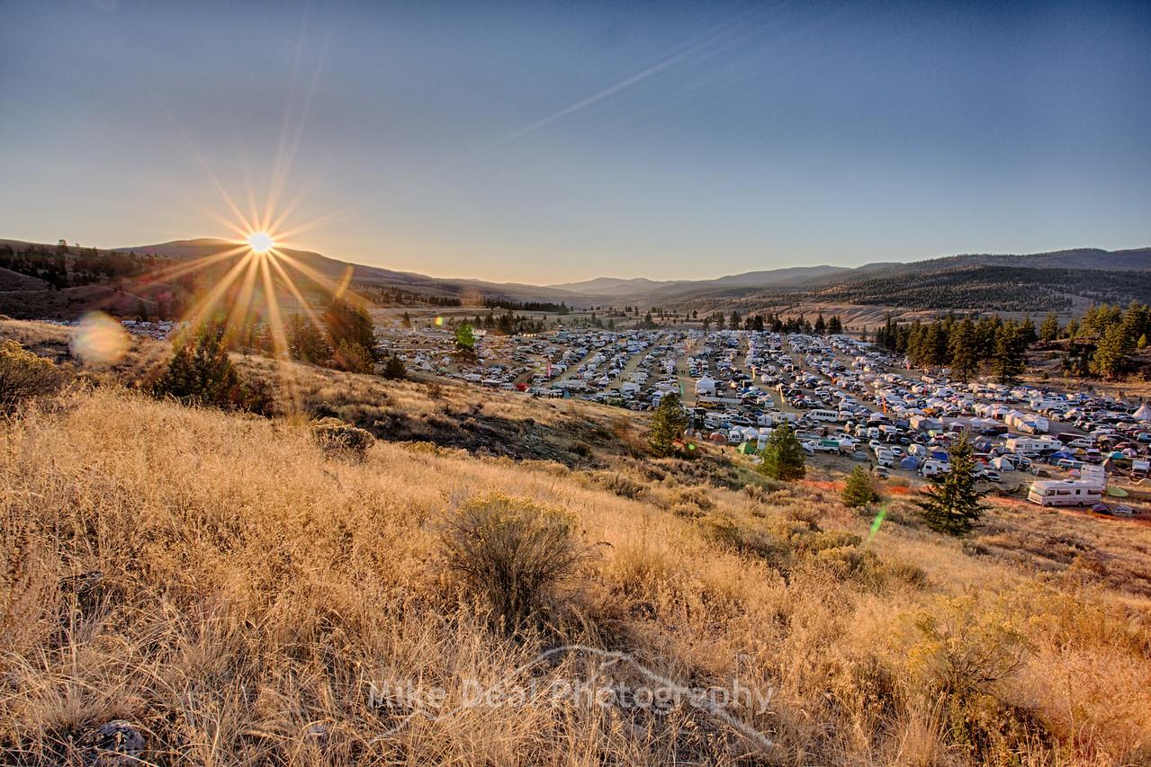 2015 Barter Faire Sunrise