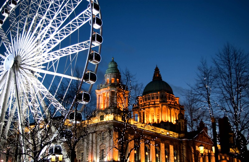Belfast Wheel, City Hall