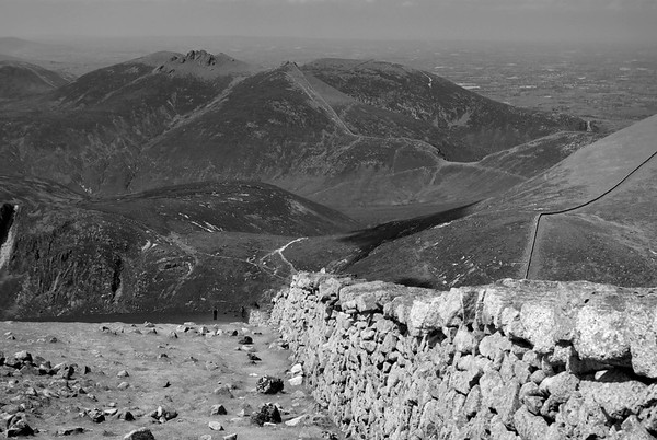 Mournes from Slieve Donard summit