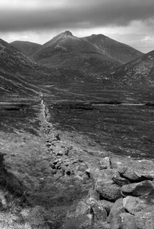 Slieve Bernagh, Mourne Mountains, Co Down (I wanted a photo that captured the feel of 'rambling' in the Mournes. I felt that this image would take anyone familiar with the area straight there!)