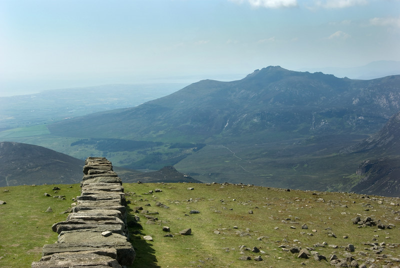 Slieve Binnian from summit of Slieve Donard