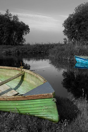 Derrymacash Boats, Lough Neagh, Northern Ireland