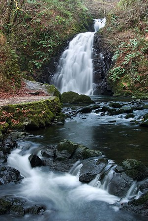 Glenoe Falls, Northern Ireland