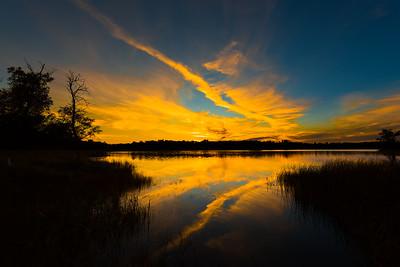 Lake Metigoshe SP Sunset 1