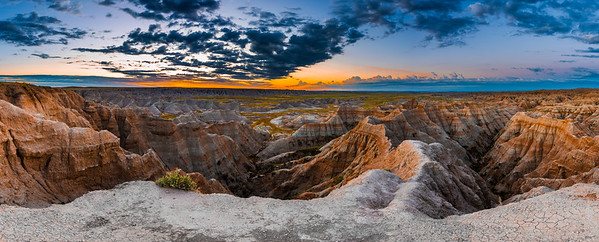 Badlands NP Sunrise 9.1