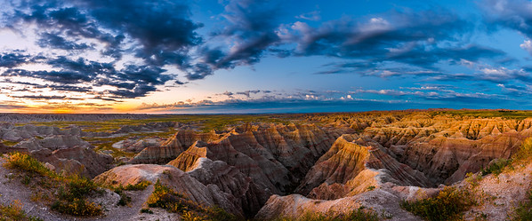 Badlands NP Sunrise 8.1