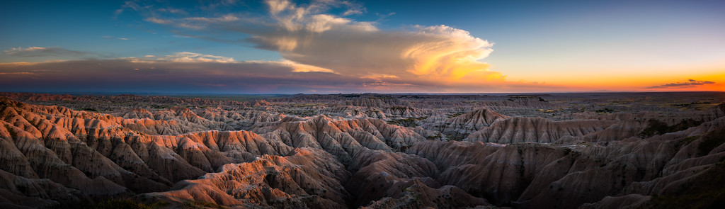 Badlands NP Sunset 10