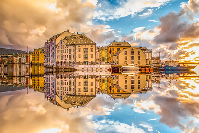 The Sun is Coming - Alesund Norway