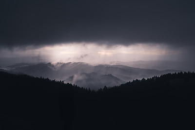Storm over Marin