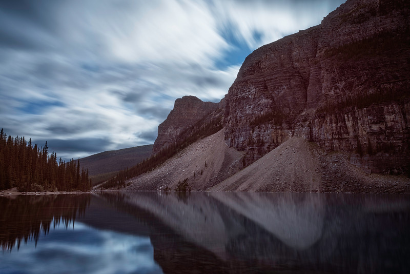 Reflections of Lake Moraine