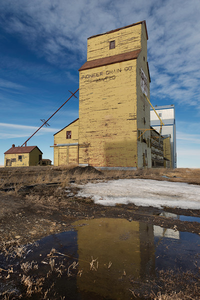 Reflections of Grain Elevator
