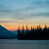 Athabasca River Sunset
