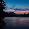 Sunset on The Athabasca River