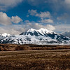 Montana Snow caped mountains  panoramic