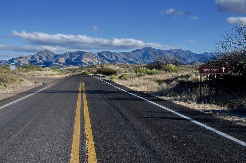 Road Into Biosphere 2