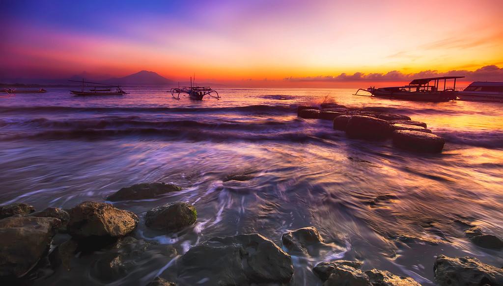 A New Day at Sanur Beach