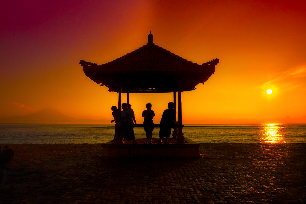 A Bali Sunrise
