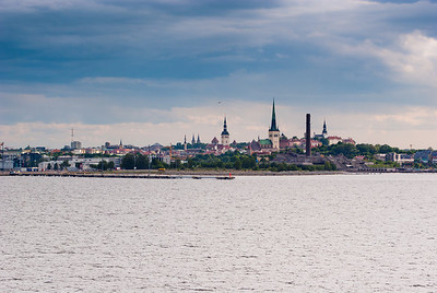 Tallinn from the sea