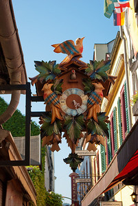 Cuckoo clock in Rüdesheim, Germany