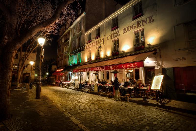 Evening in Montmartre