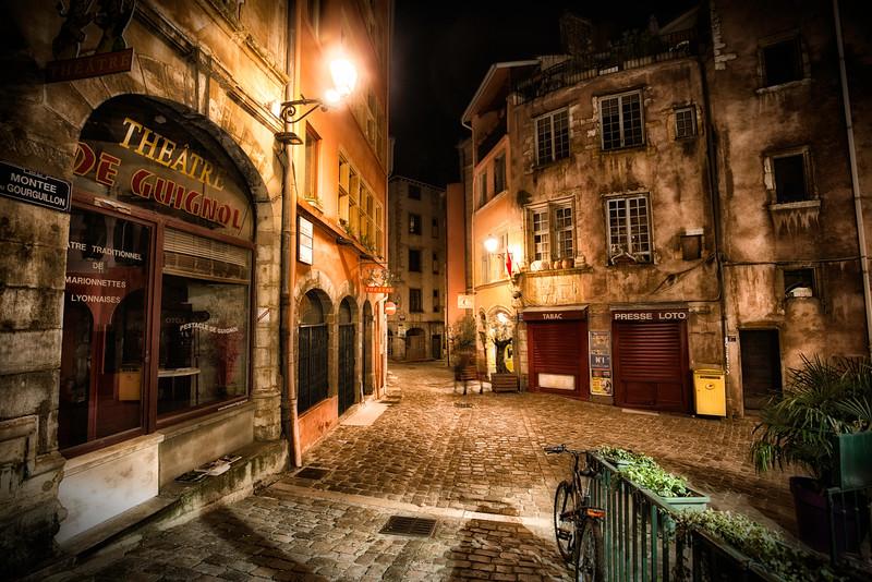 Night in Old Lyon