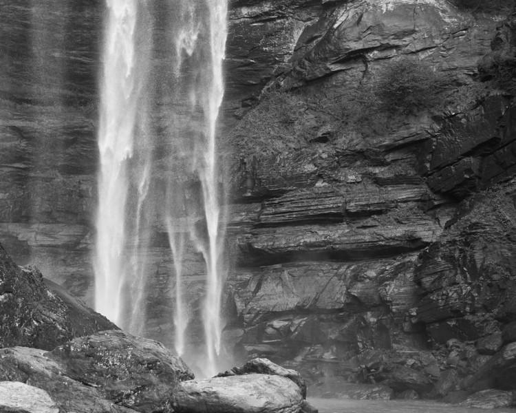 Talullah Falls II B&W