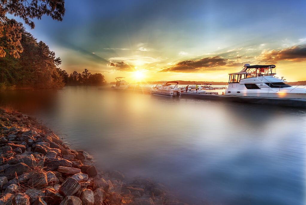 Lake Lanier Mist