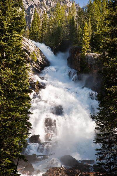 Grand Teton National Park , Hidden Falls in Cascade Canyon