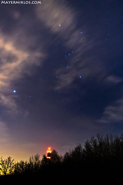 Orion és a Sziriusz