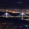 Megyeri-híd éjjel