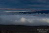 We were happy to be above the clouds; what an amazing view!