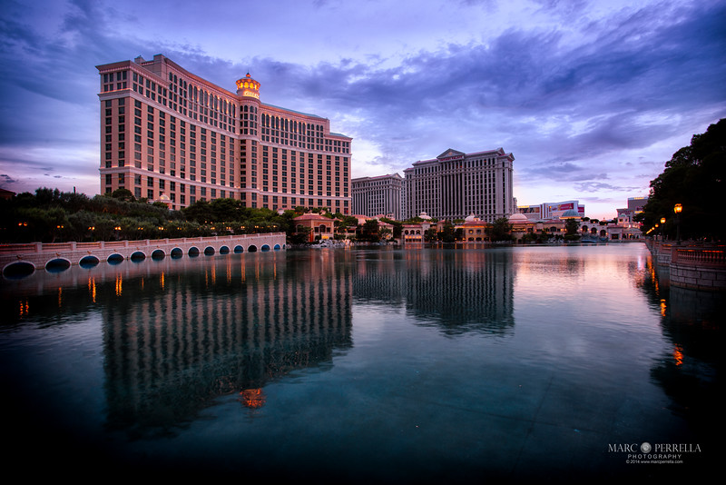 The Bellagio Hotel in Las Vegas