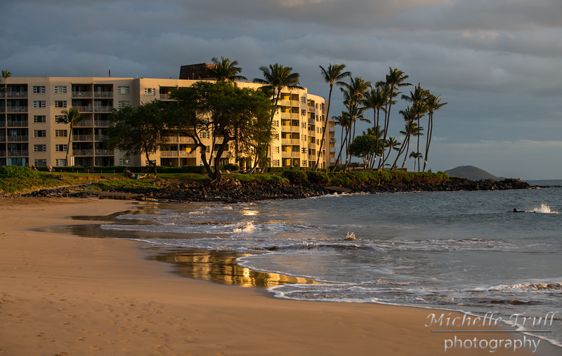 Beautiful place for our morning walks!  All the oceanfront hotels have a walking path for the public, so you can walk the shore forever.
