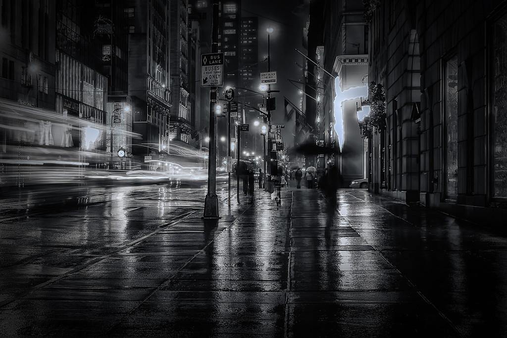 Midnight Walk in NYC