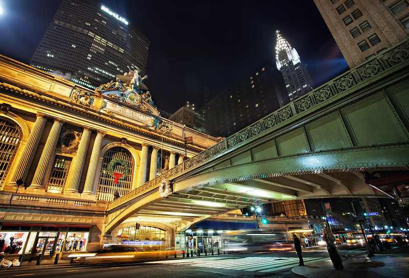 Midnight in Grand Central
