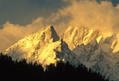 Tetons at Sunrise 1520