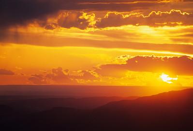 Sunset, Mesa Verde NP 7444