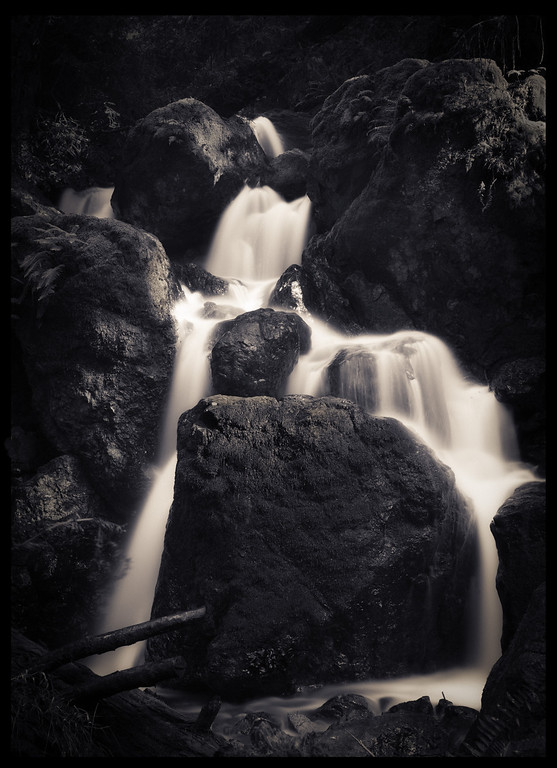 Steep Ravine Falls.